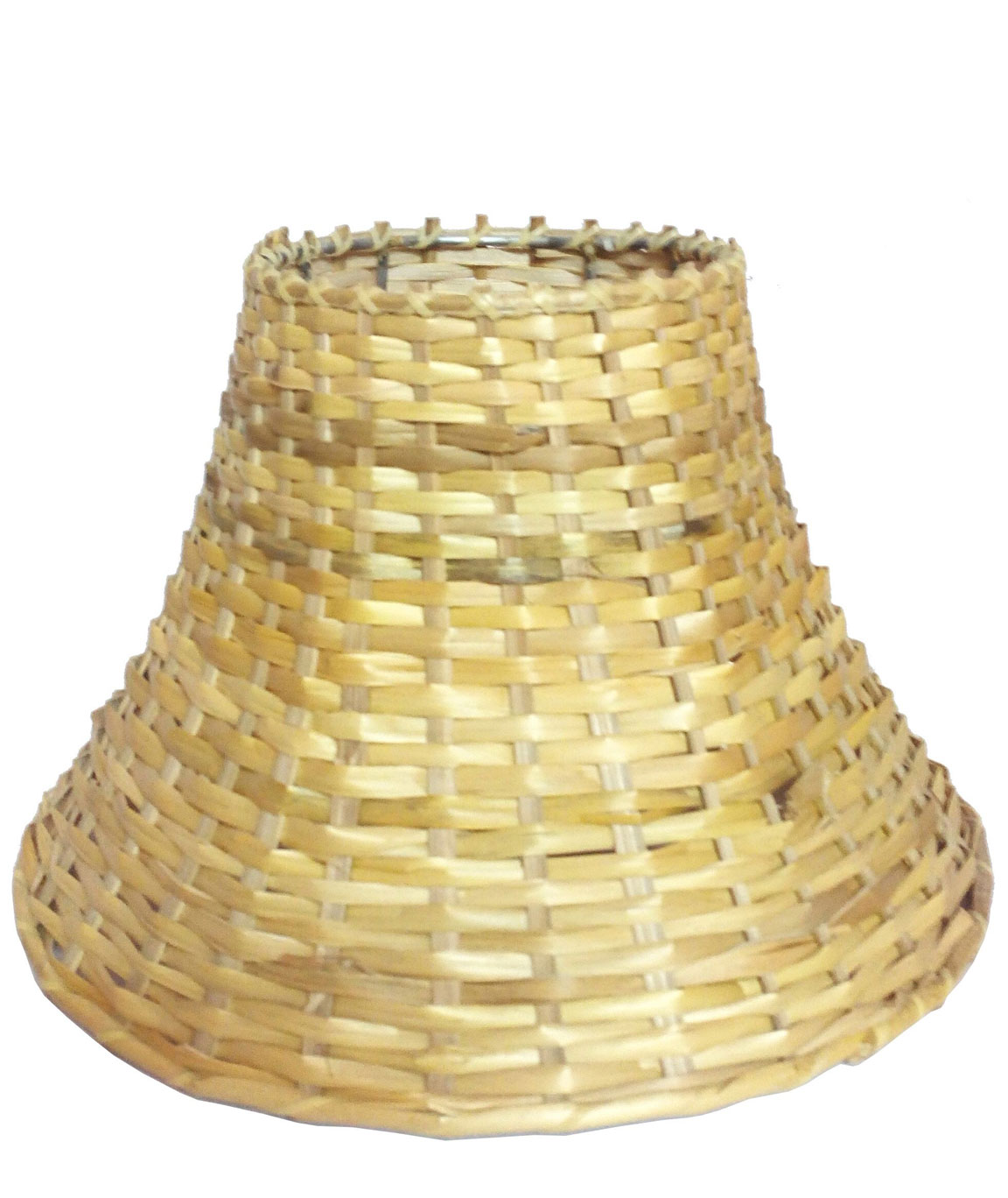 RDC 9 Inches Round Slanting Cane Lamp Shade for Table Lamp