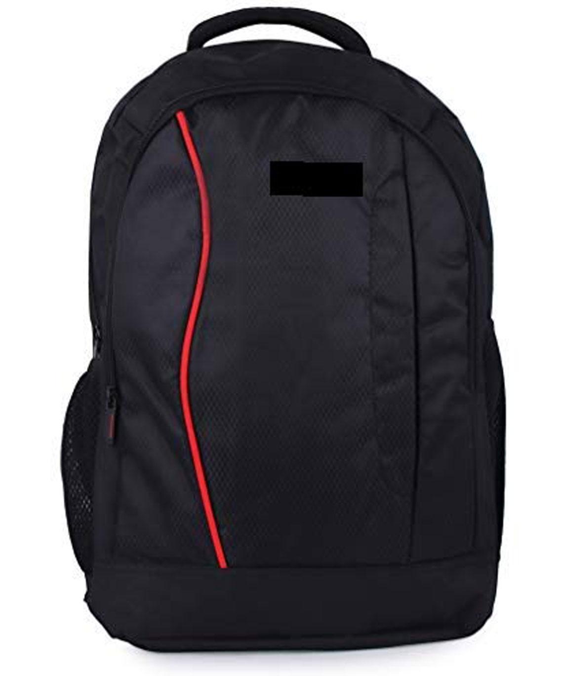 Safar 30 Liters Casual Bagpack/School Bag/Laptop Backpack(Black::Red)
