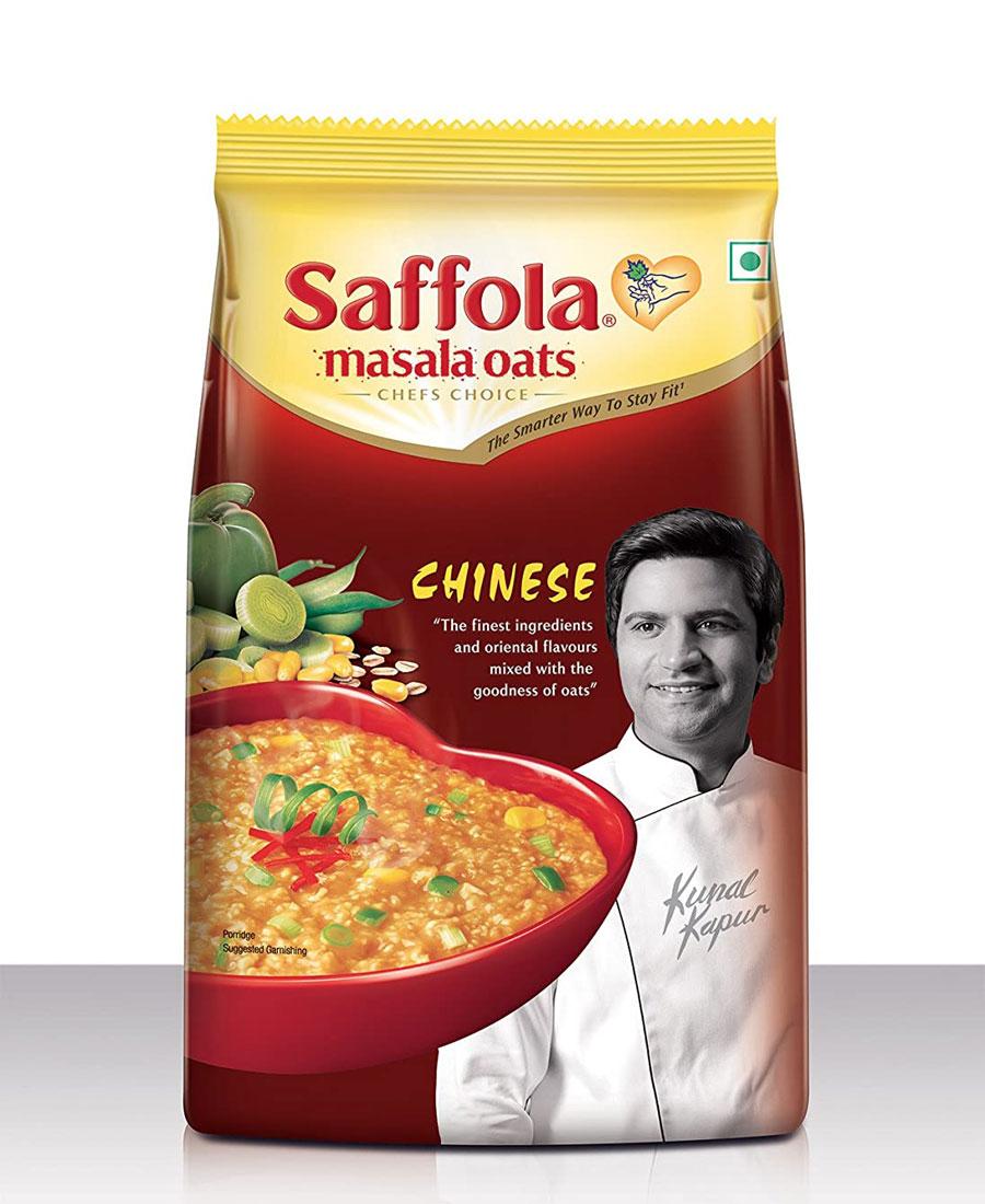 Saffola Masala Oats - Chinese, 250 gm Pouch