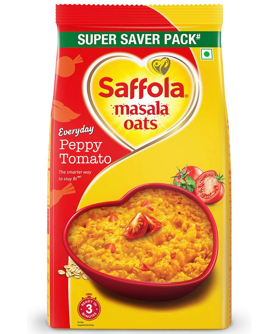 Saffola Masala Oats - Peppy Tomato, 500 gm