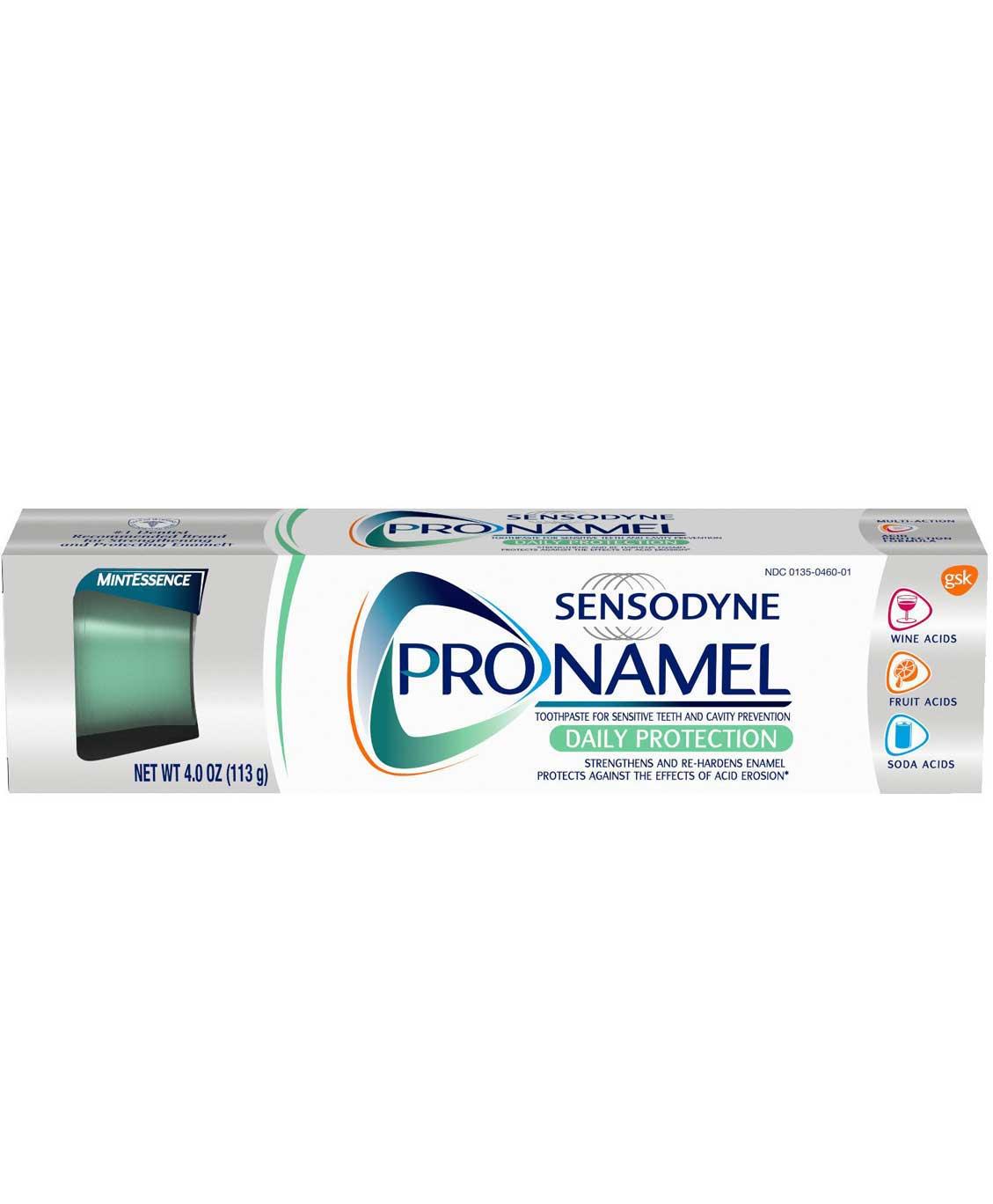 Sensodyne ProNamel Mint Essence Toothpaste 4 oz.