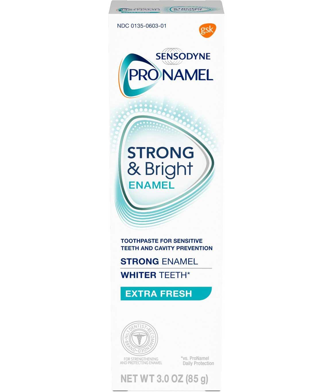 Sensodyne Pronamel Strong and Bright Extra Fresh Toothpaste 3 Ounce