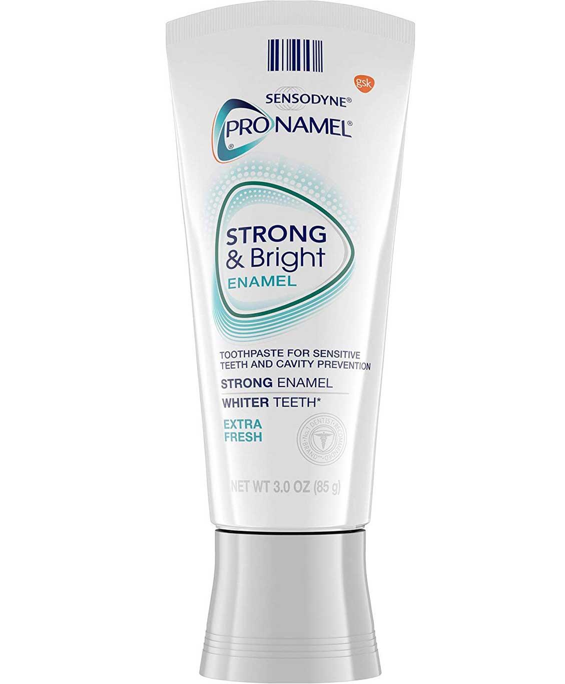 Sensodyne ProNamel Strong & Bright Enamel Extra Fresh Toothpaste, 3 oz
