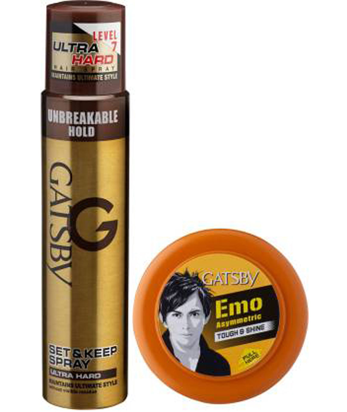SHARE GATSBY SET & KEEP HAIR SPRAY ULTRA HARD 250 ML WITH HAIR STYLING WAX TOUGH & SHINE 75 Gm SPRAY (325 G)