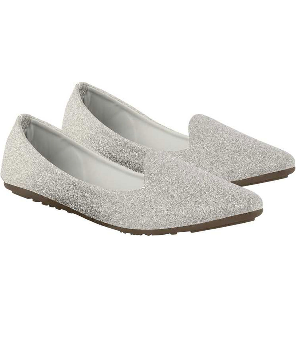 SHIMMER BELLIES FOR WOMEN (SILVER)