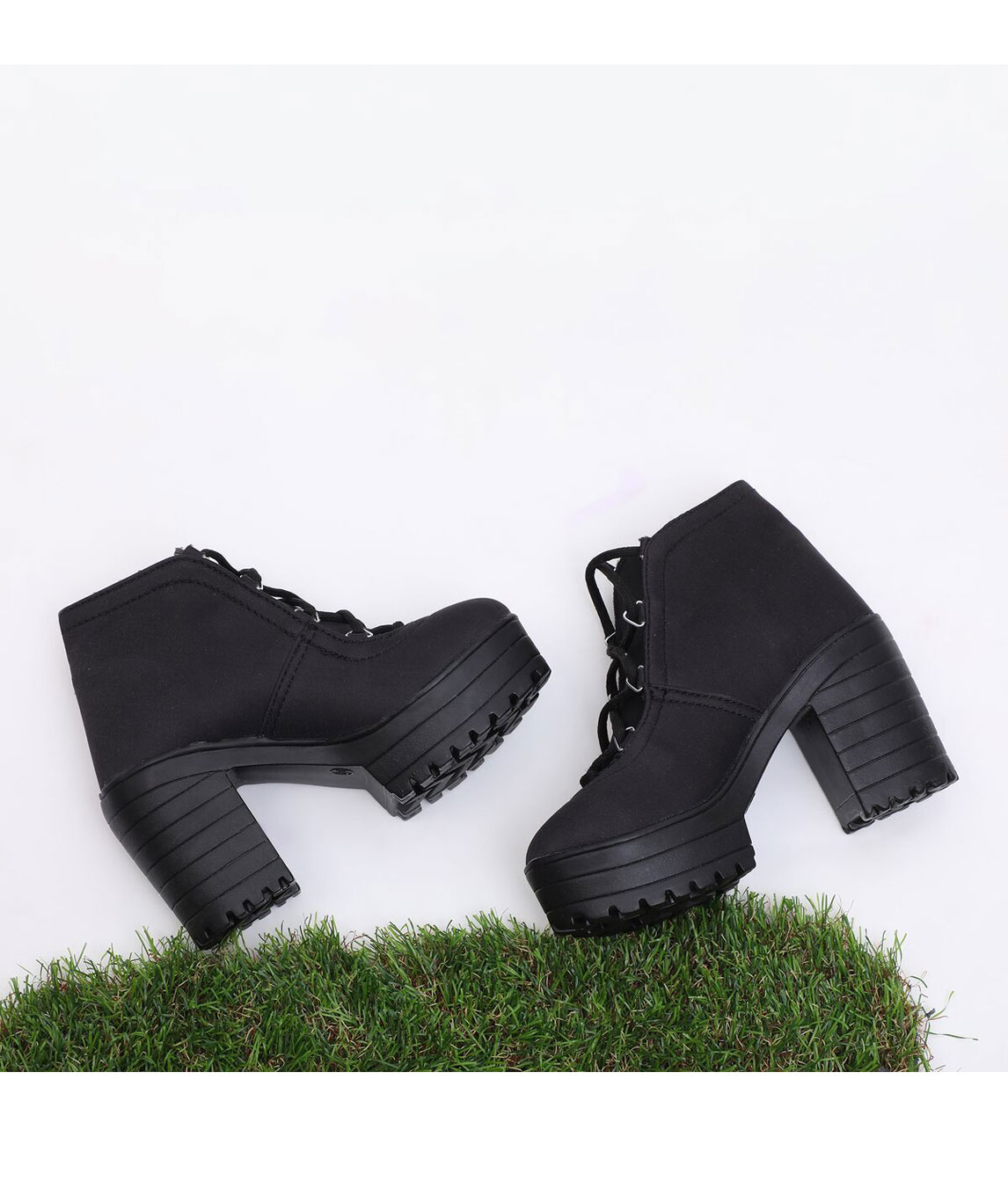 Sindhi Footwear Women`s Black Synthetic Leather Boot