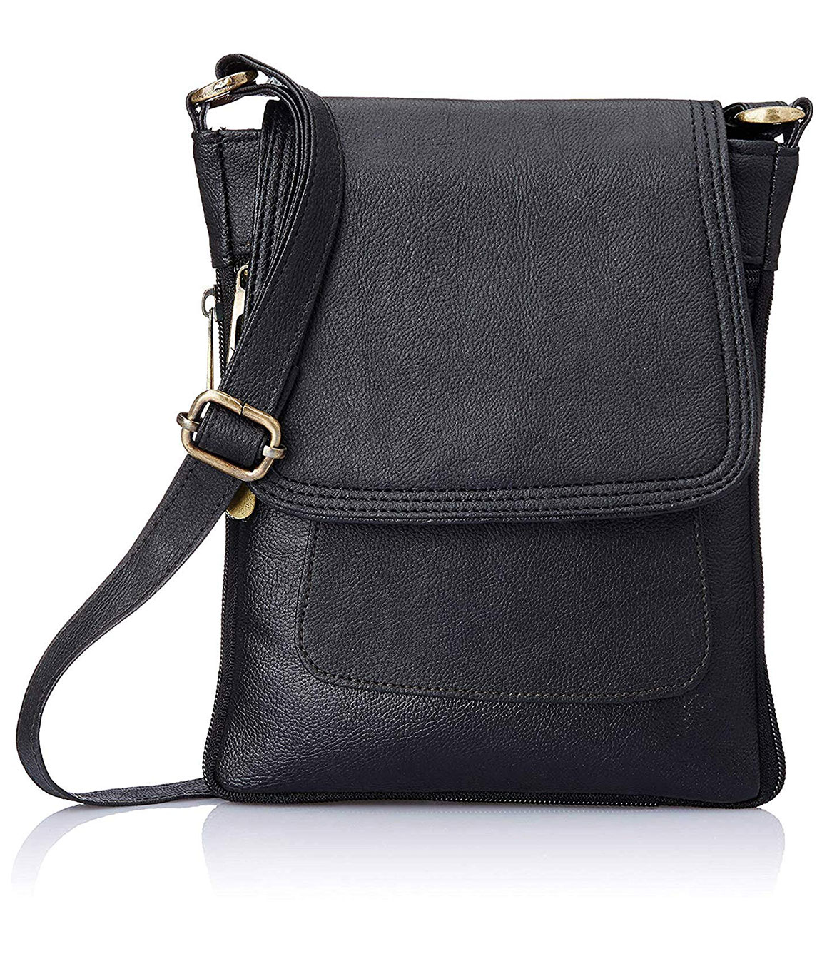 Sk Noor ARS COLLECTION Women`s Sling Bag (Black)