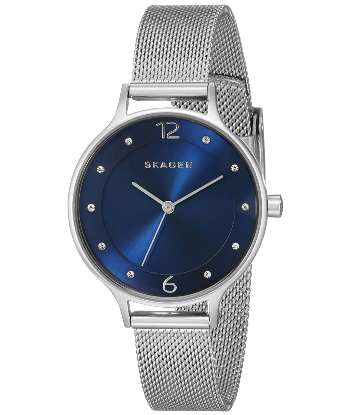 Skagen Women`s Anita Quartz Stainless Steel Casual Watch Color: Toned