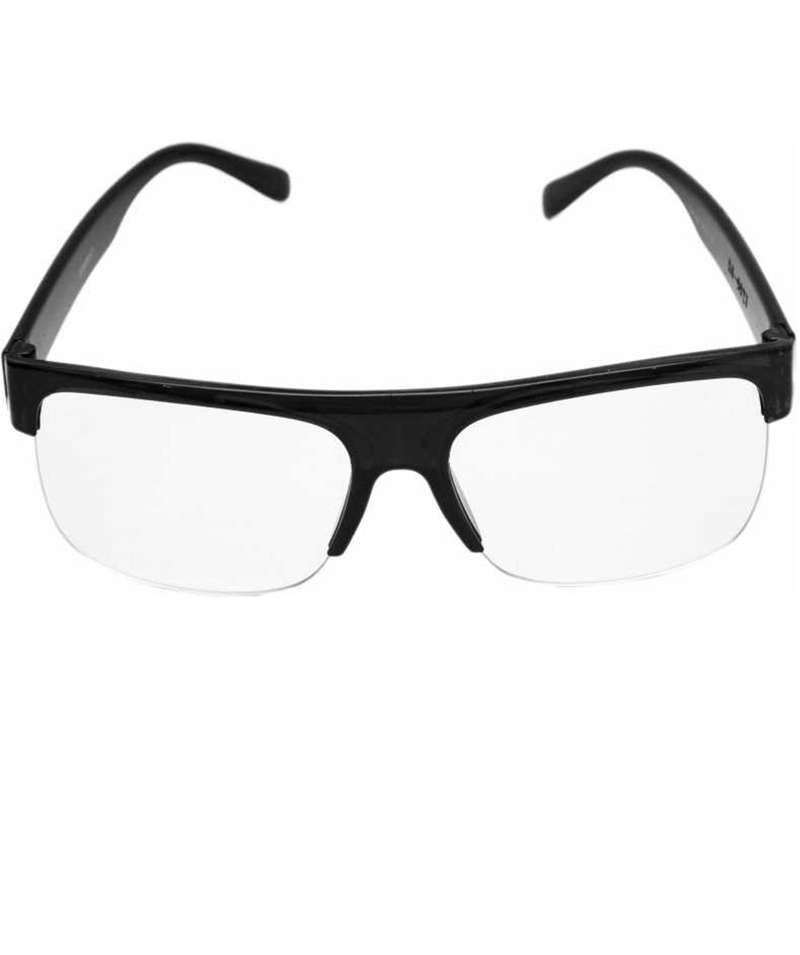 SPECTACLE SUNGLASSES (55) (CLEAR, BLACK)