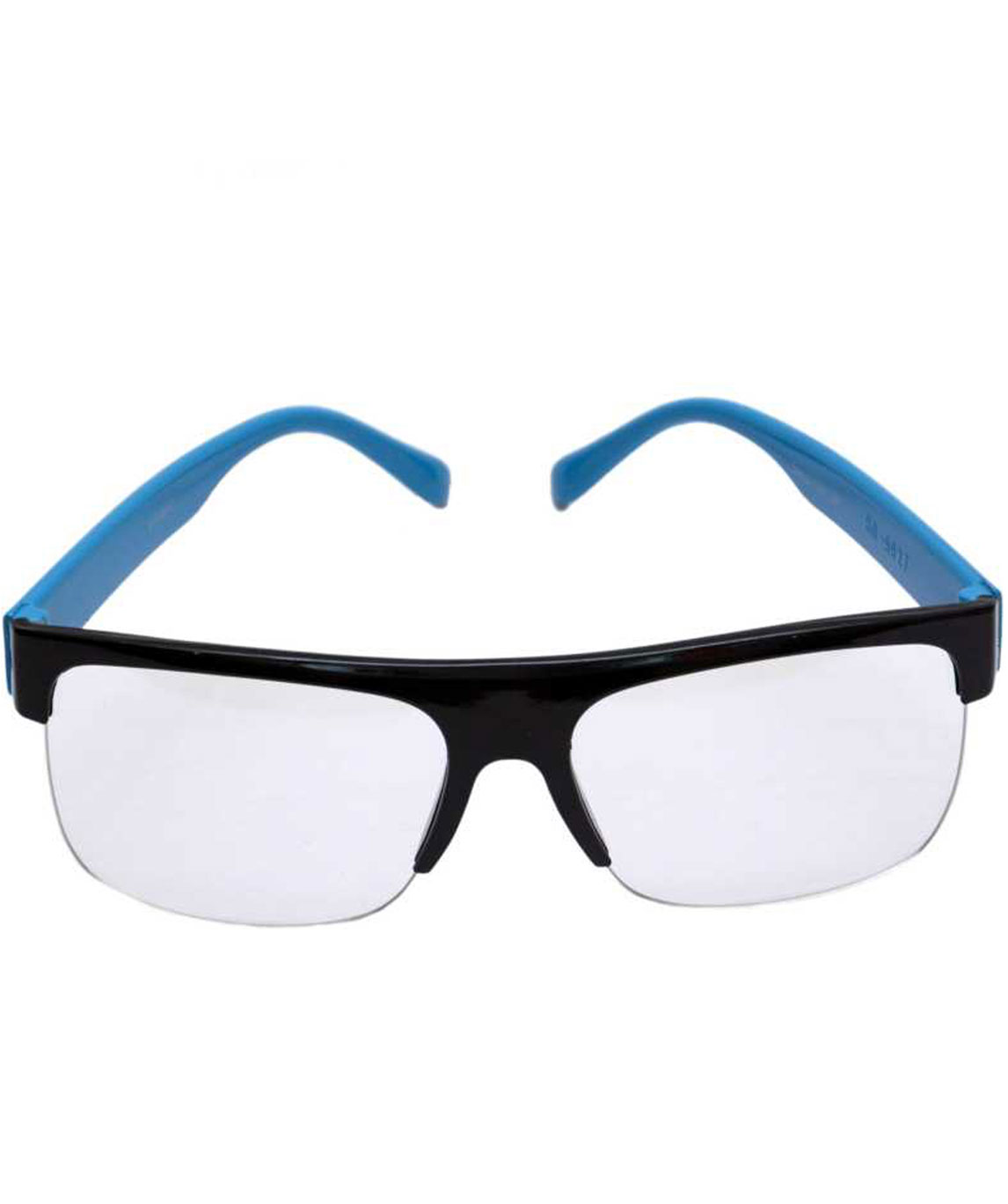 SPECTACLE SUNGLASSES (55) (CLEAR, BLUE)