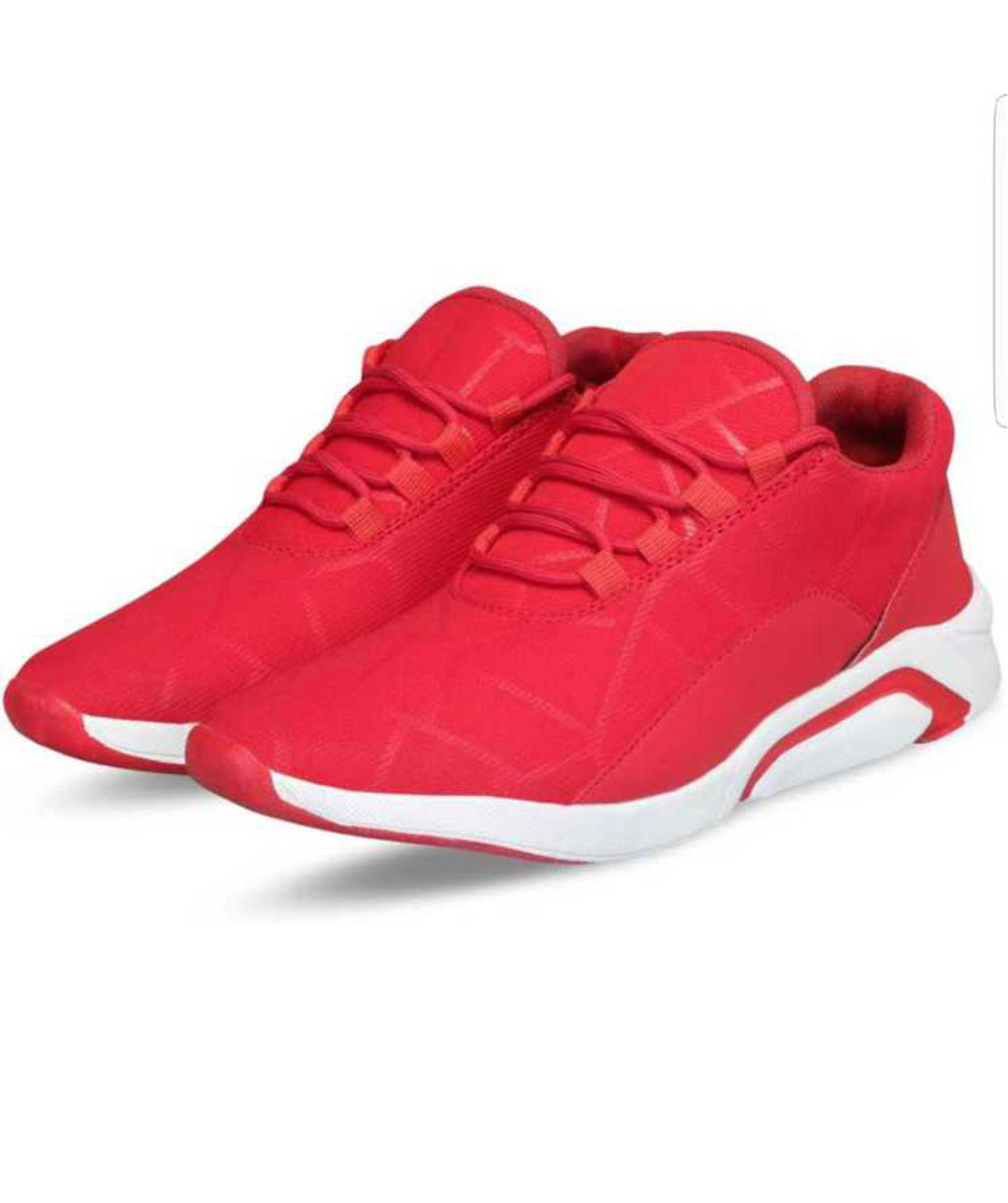 STAR SPORTS SNEAKERS OUTDOORS FOR MEN (RED, WHITE)