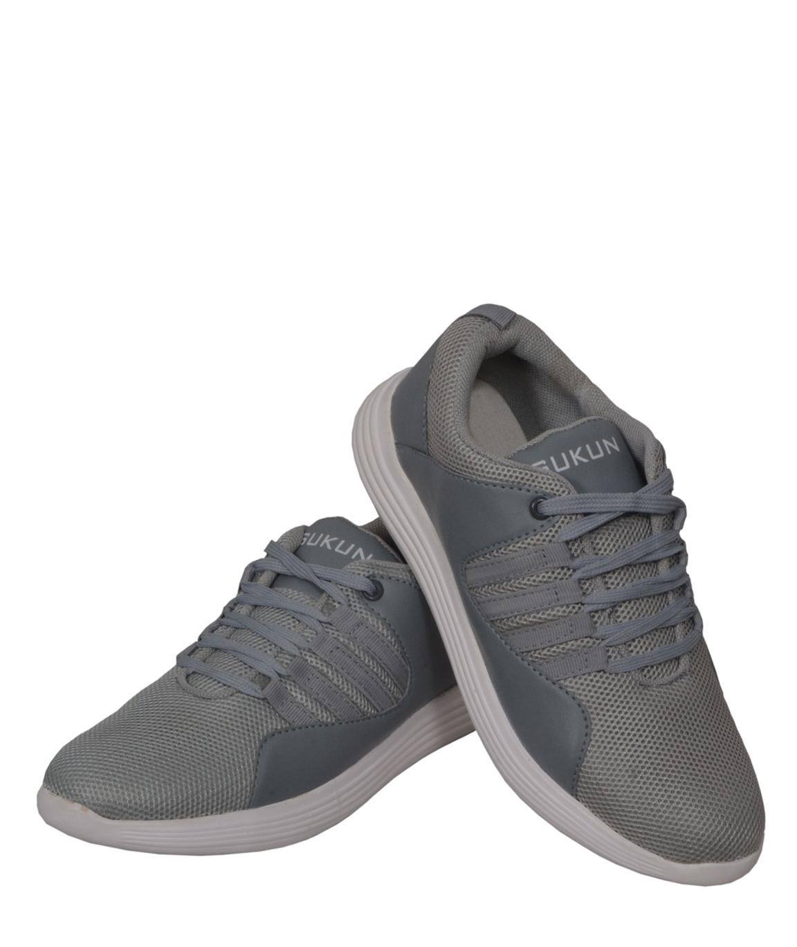 Sukun Grey Sport Shoes
