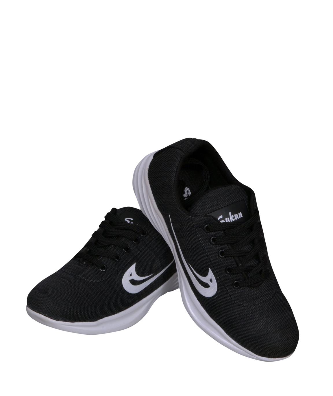SukunSports Sneaker Shoes-BLACK