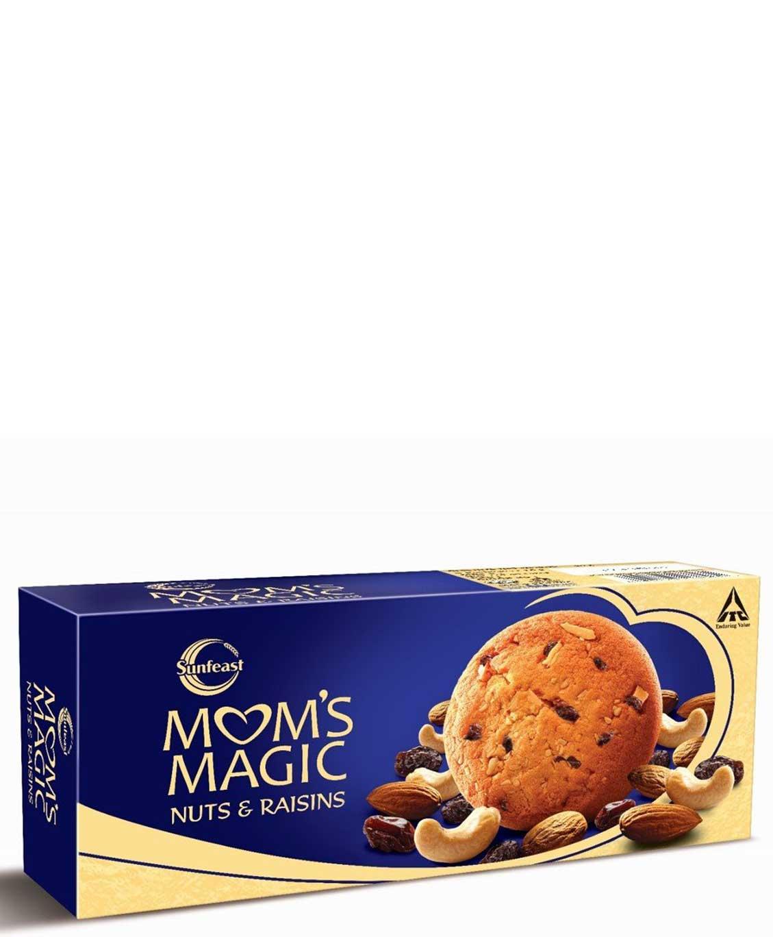 Sunfeast Mom`s Magic Nuts and Raisins 60g