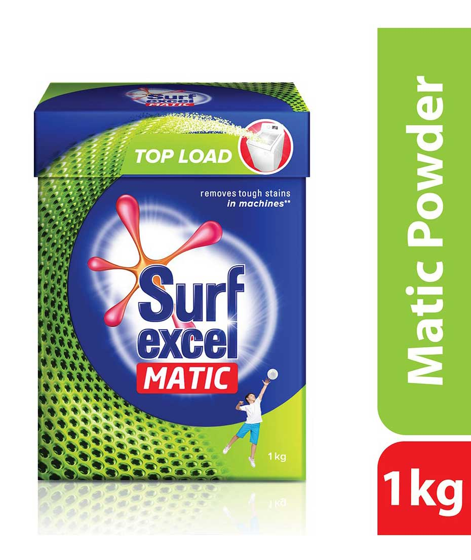 Surf Excel Matic Top Load Detergent Powder 1 kg