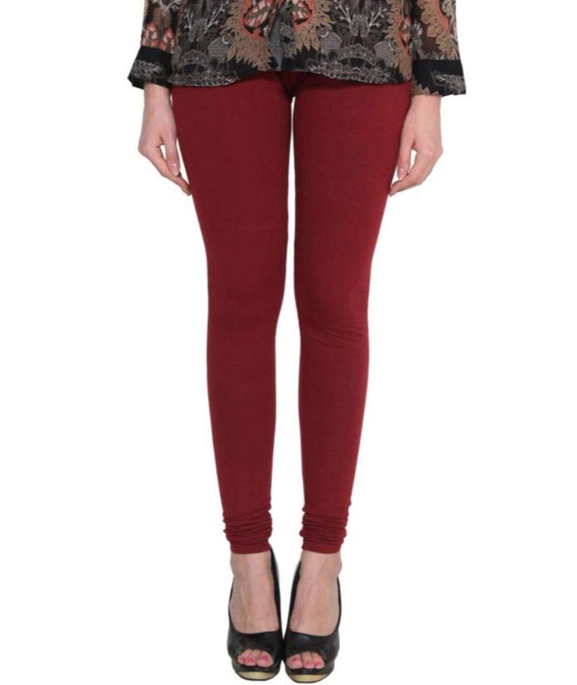 Swag Wear Churidar Legging(mehroon)