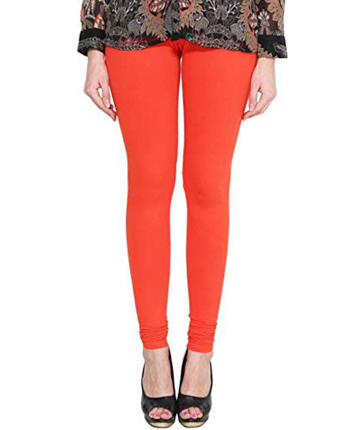 Swag  Churidar Legging (orange)