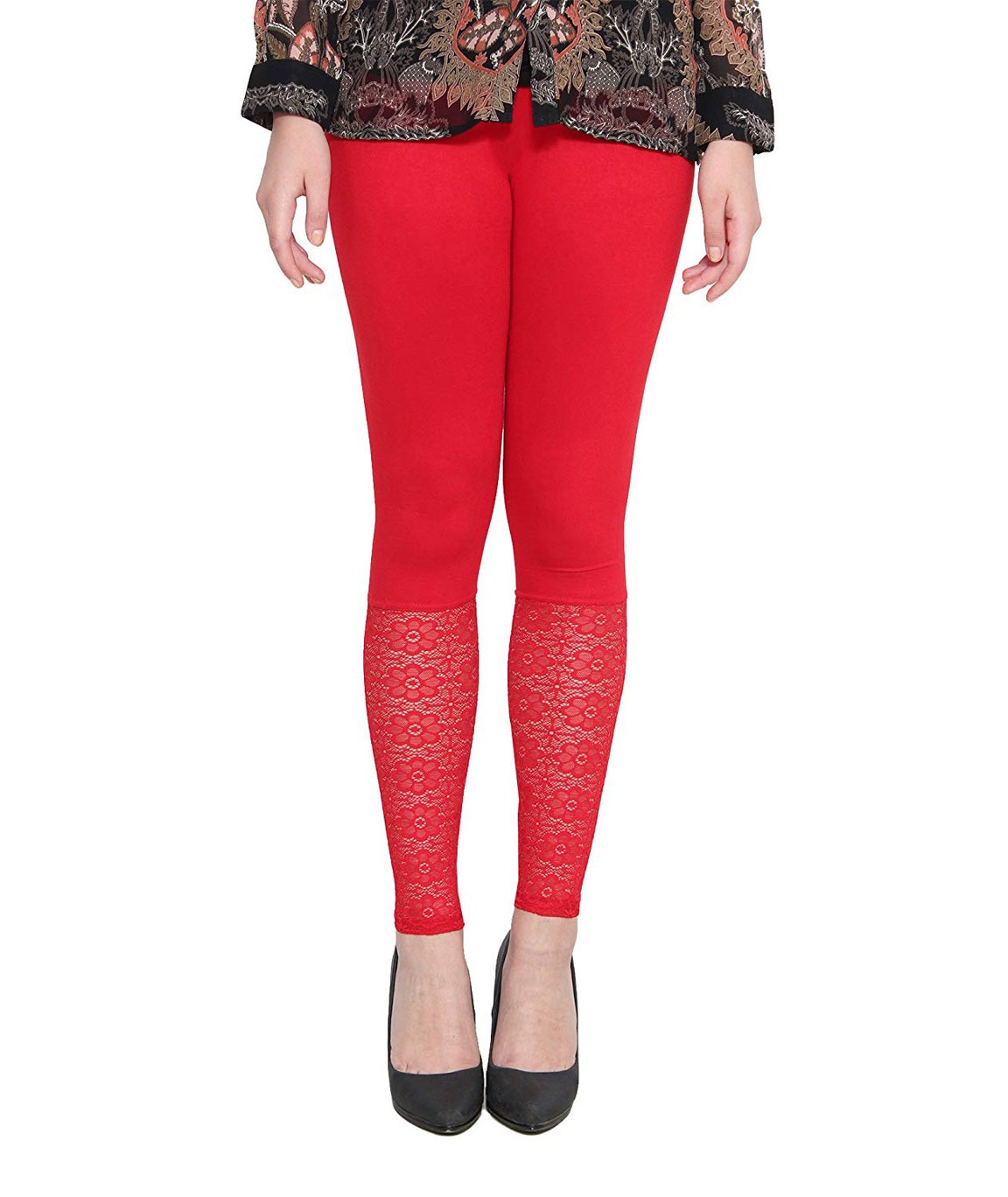Swag  Leggings Free Size(red)