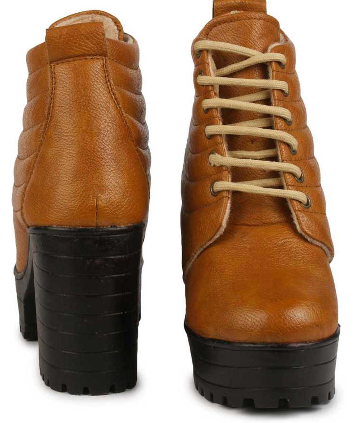 TAN BOOT FOR WOMEN