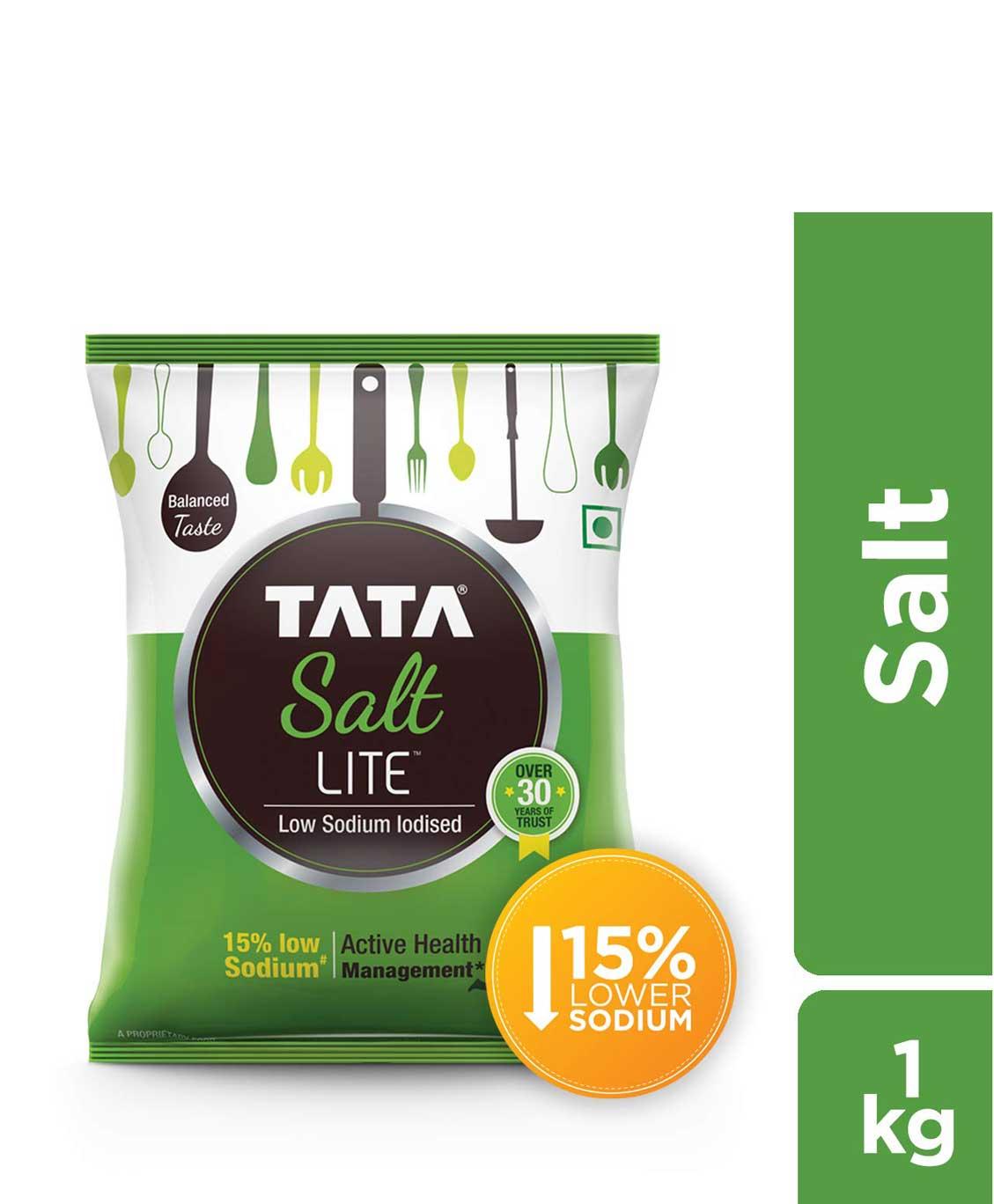Tata Salt Lite Low Sodium 1kg