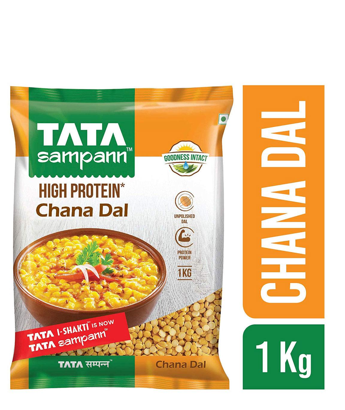 Tata Sampann Chana Dal, 1kg