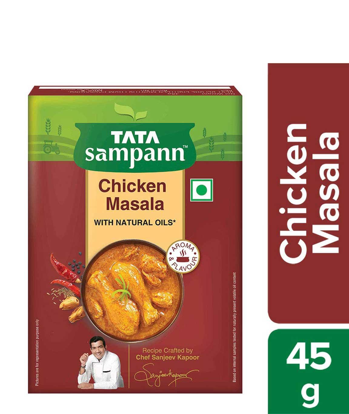 Tata Sampann Chicken Masala, 45gm