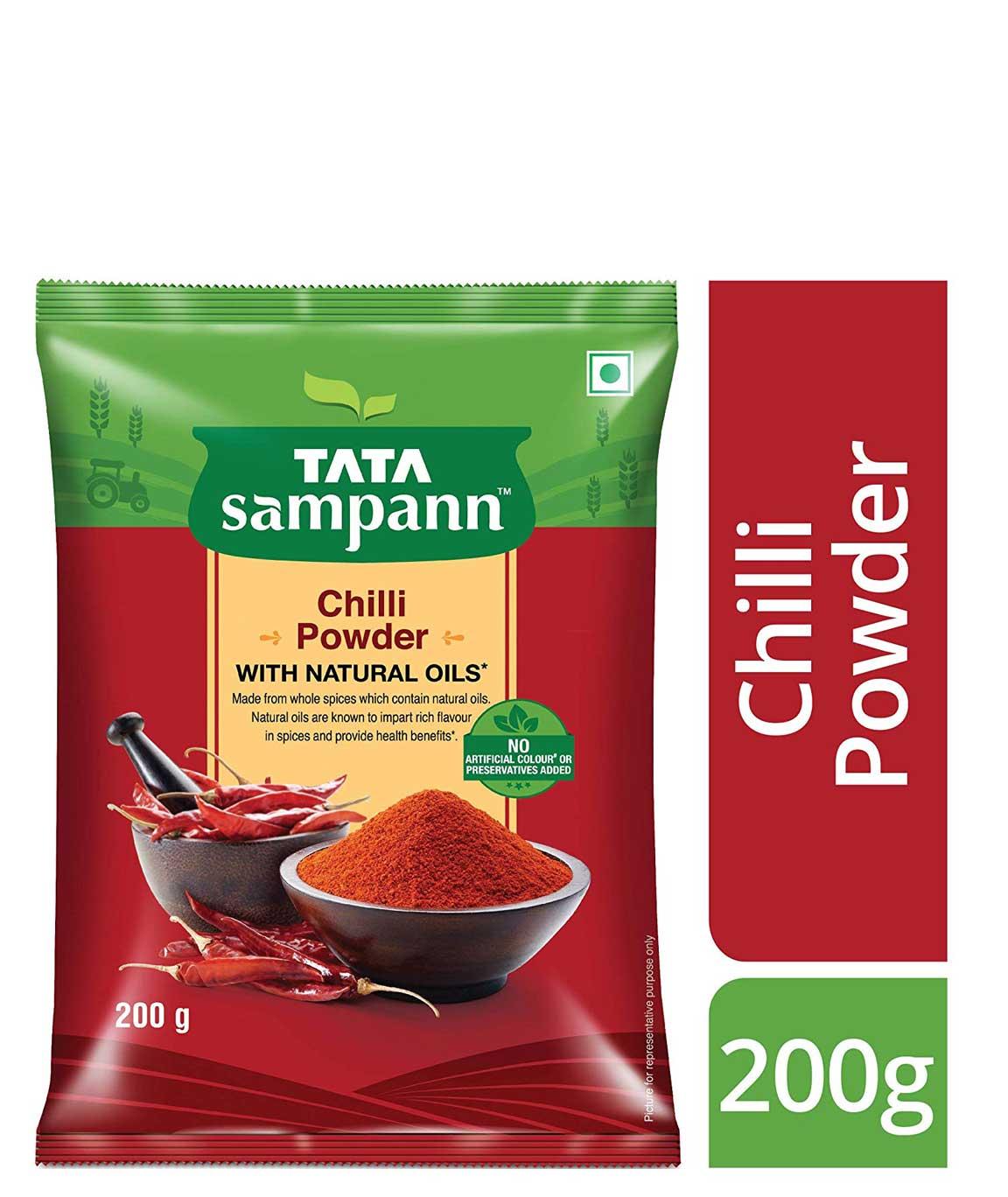 Tata Sampann Chilli Powder, 500g
