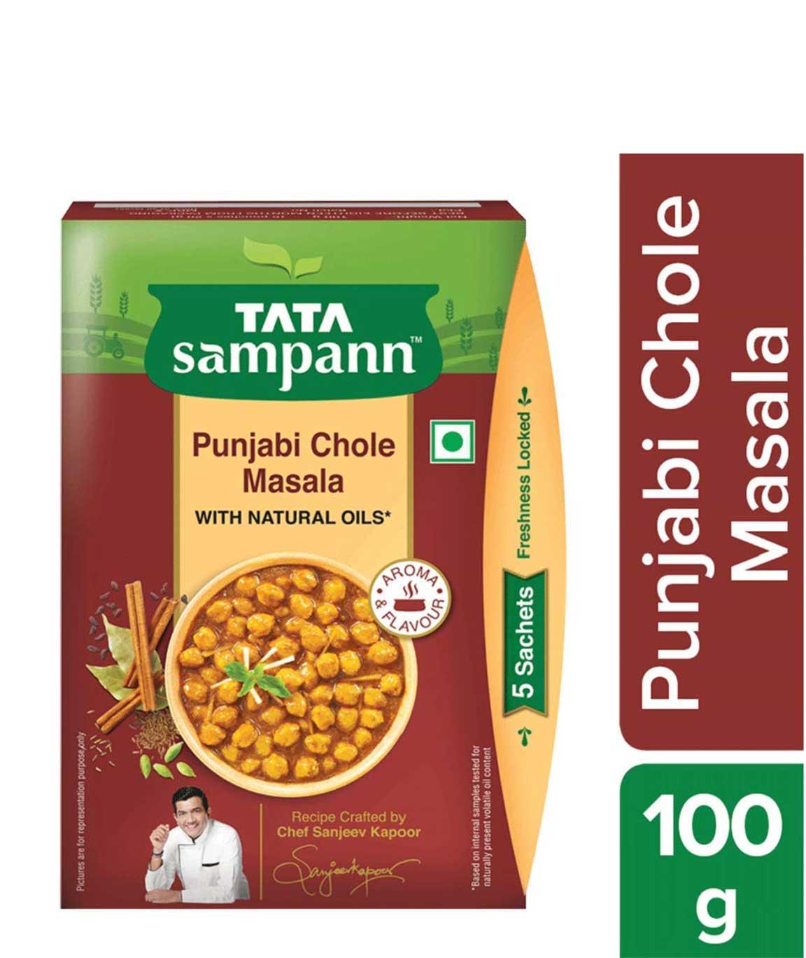 Tata Sampann Punjabi Chhole Masala, 100gm