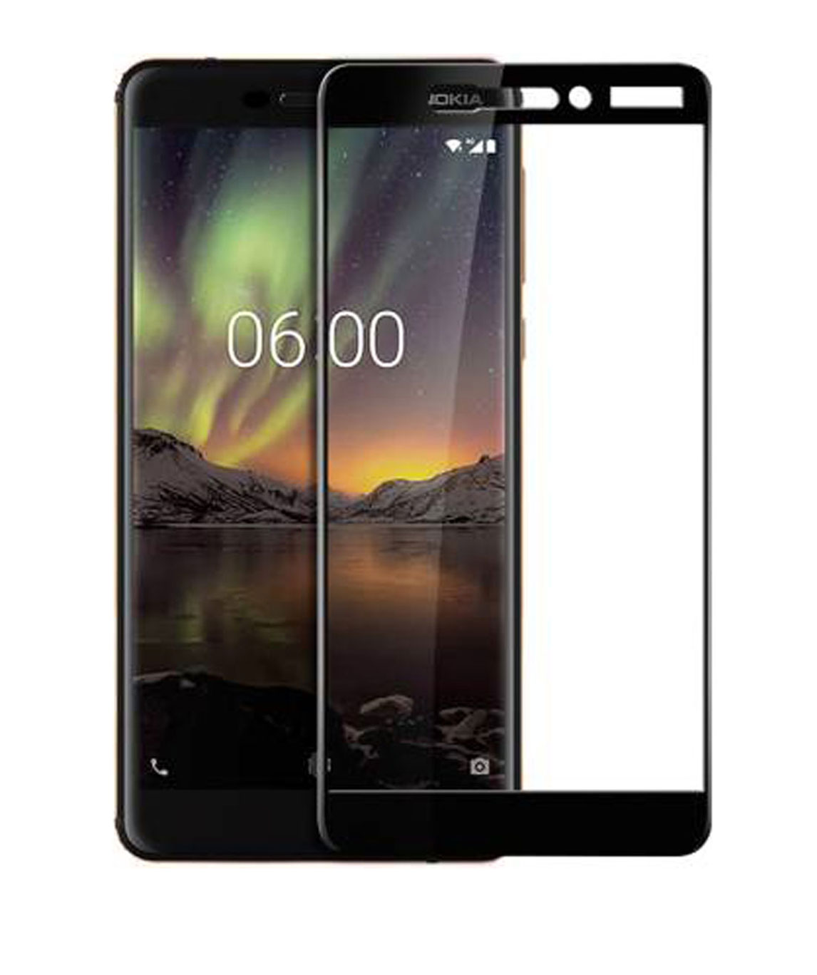 TEMPERED GLASS GUARD FOR NOKIA 6.1 (PACK OF 1)