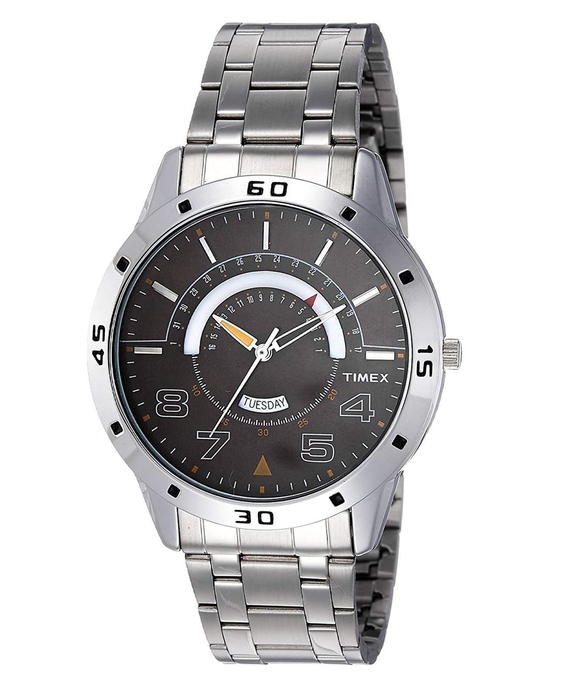 Timex Analog Brown Dial Men`s Watch - TW000U906