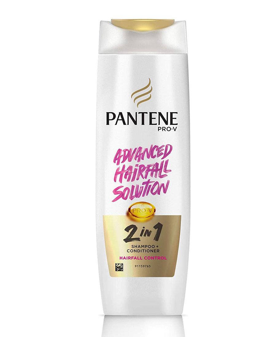 Pantene advance hair fall solution 2 in 1 shampoo + conditioner hair fall control 180 ml