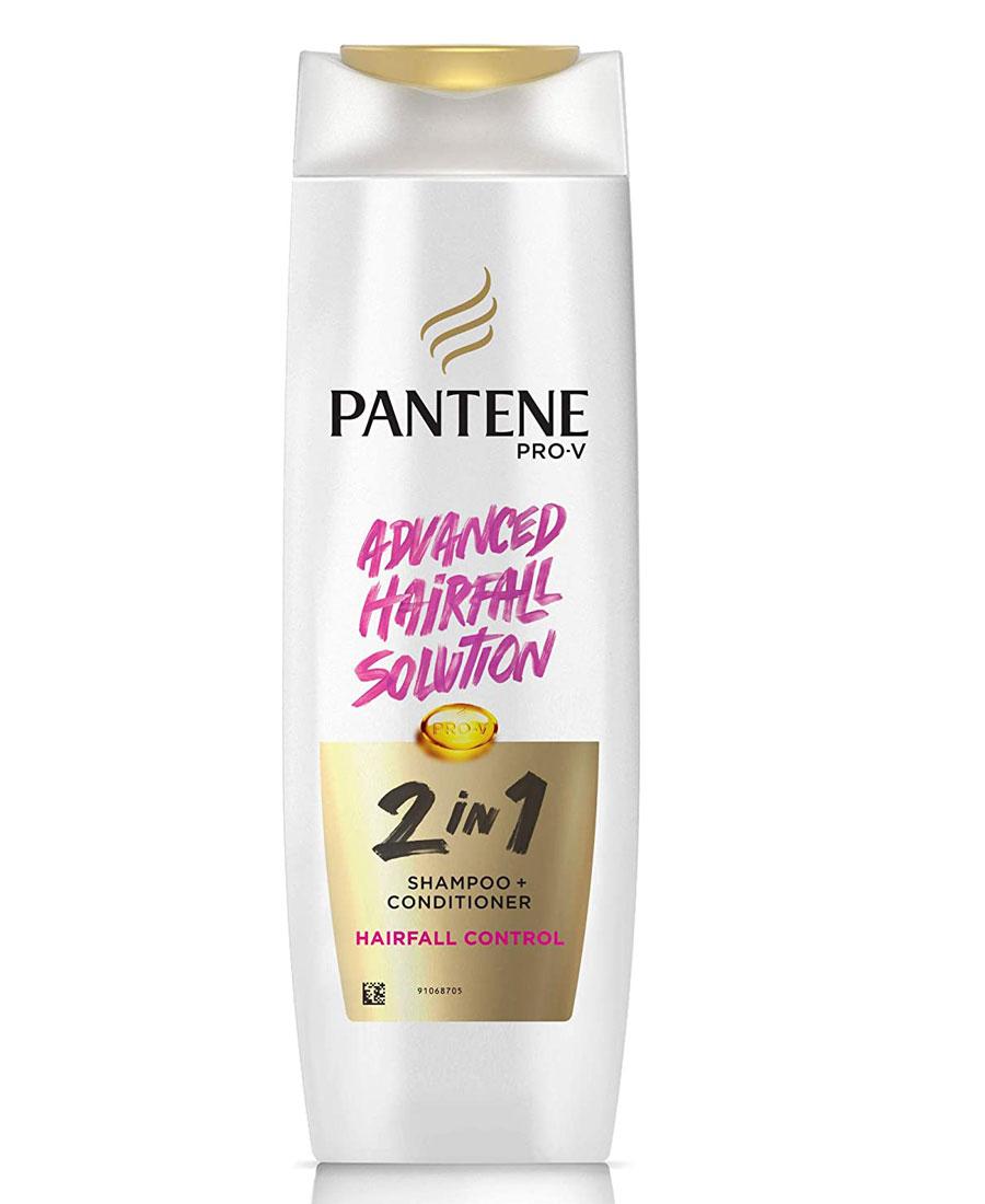 Pantene advance hair fall solution hair fall control 2 in 1 shampoo + conditioner 340 ml