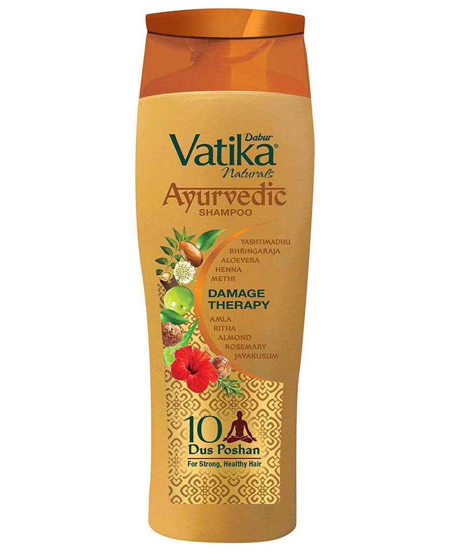 Vatika ayurvedic shampoo damage therapy 80ml