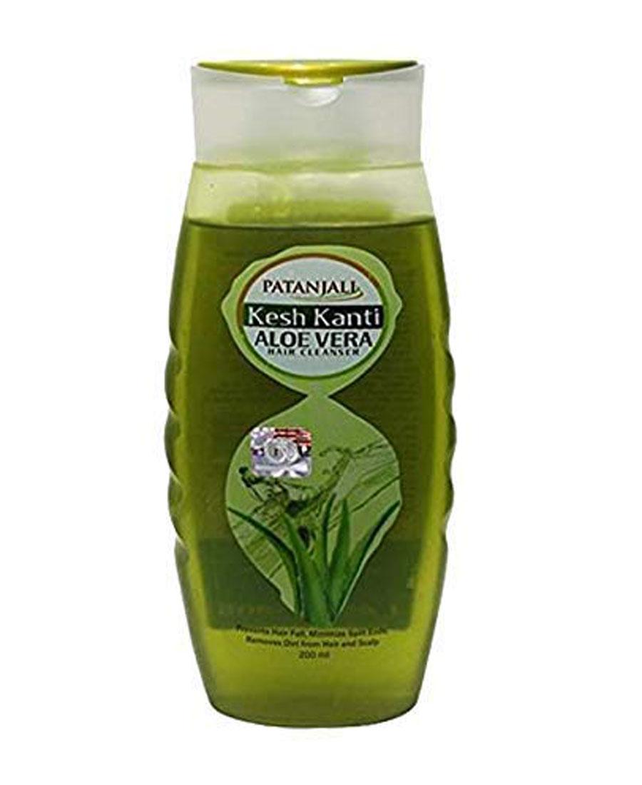 Patanjali kesh kanti aloevera hair cleanser 200 ml