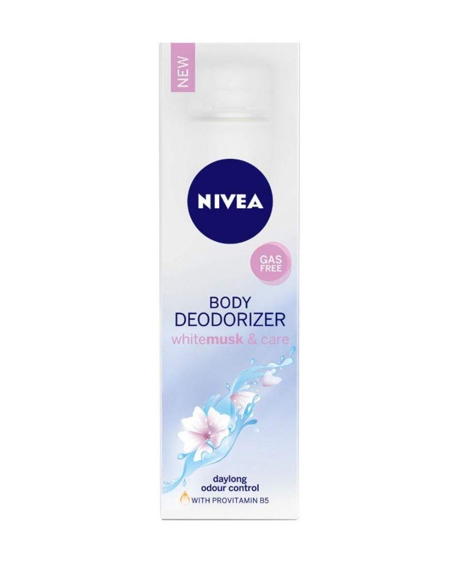 Nivea body deodorizer whitemusk & care 120 ml