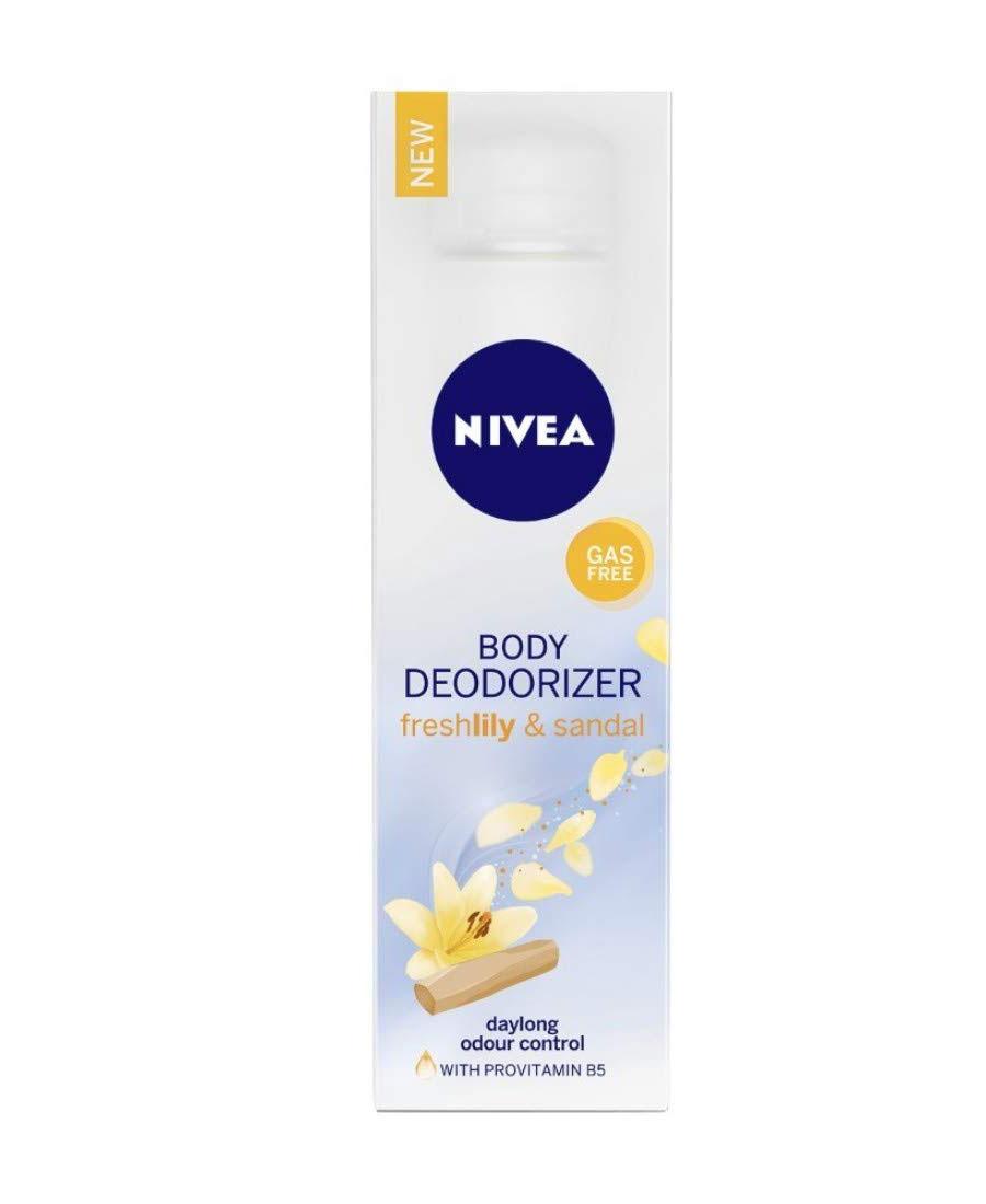 Nivea body deodorizer freshlily & sandal 120 ml