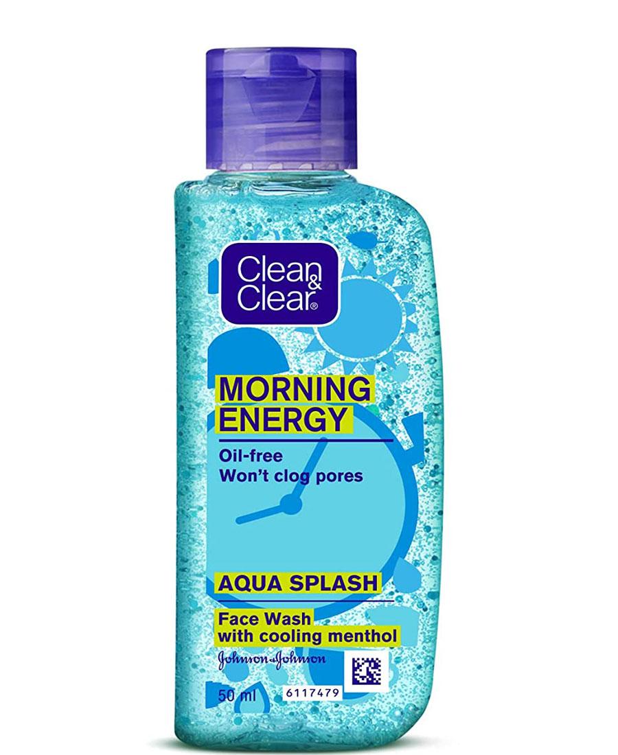 Clean & clear morning energy aqua splash facewash 50 ml
