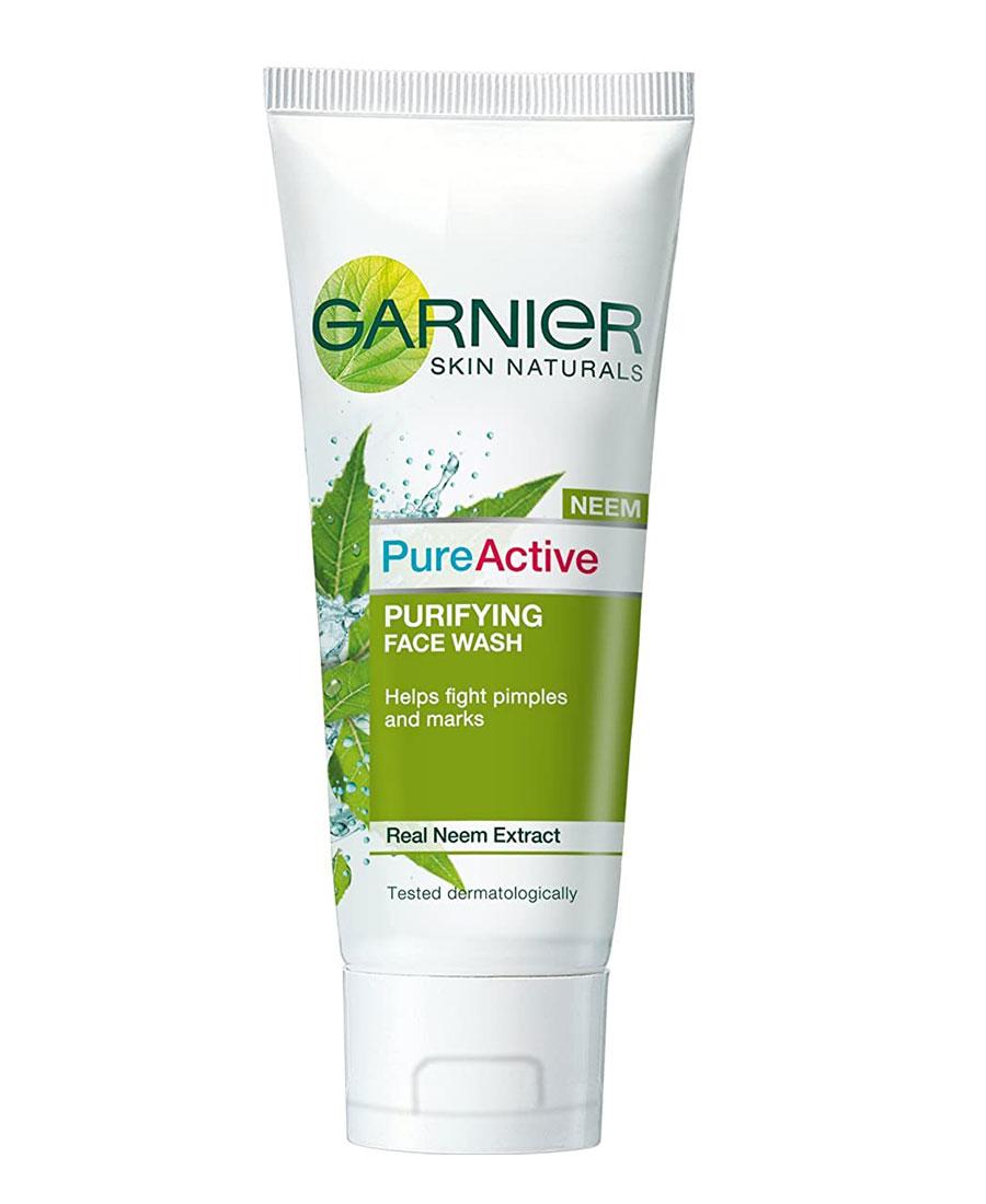 Garnier pure active purifying face wash 100gm