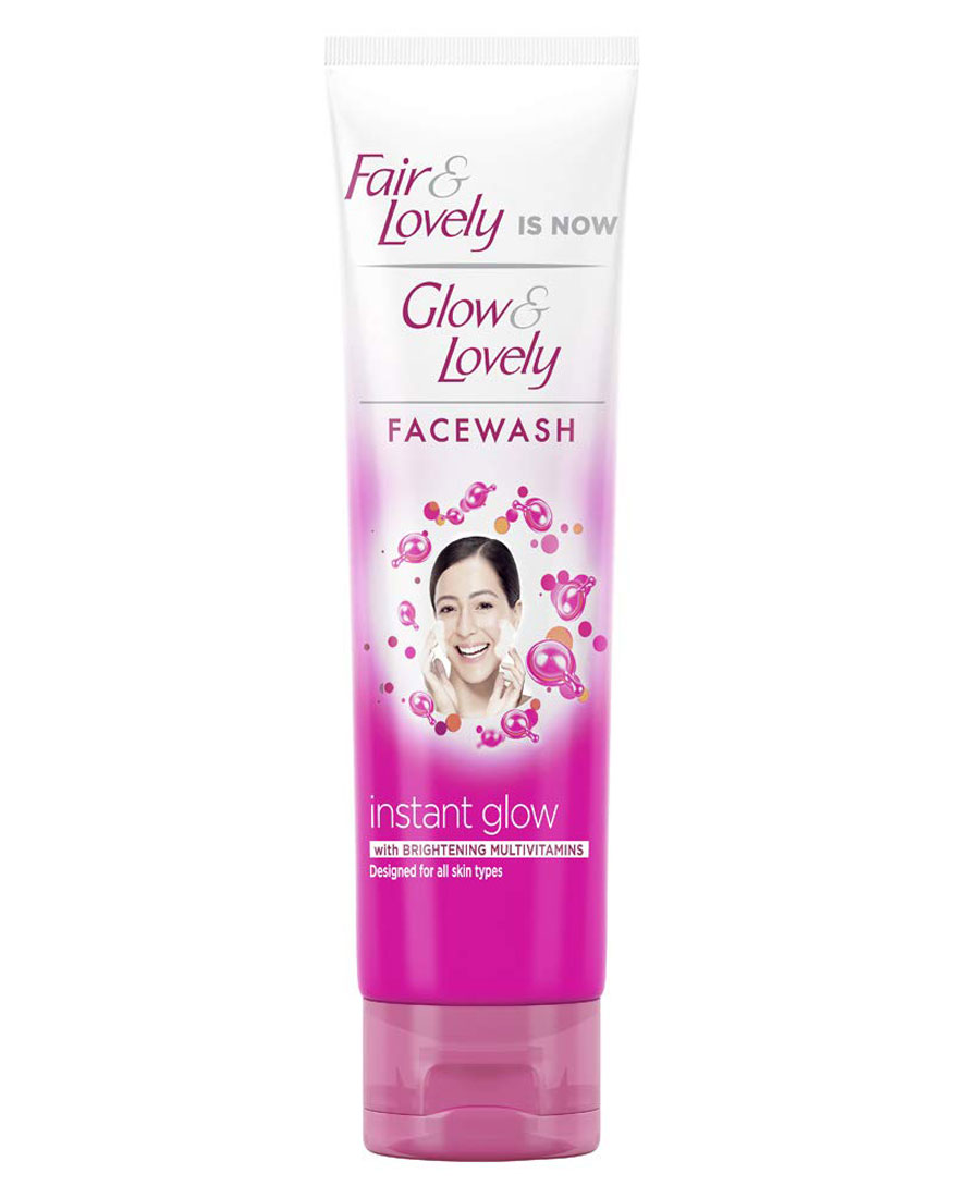 Glow & lovely  instant glow face wash 100gm