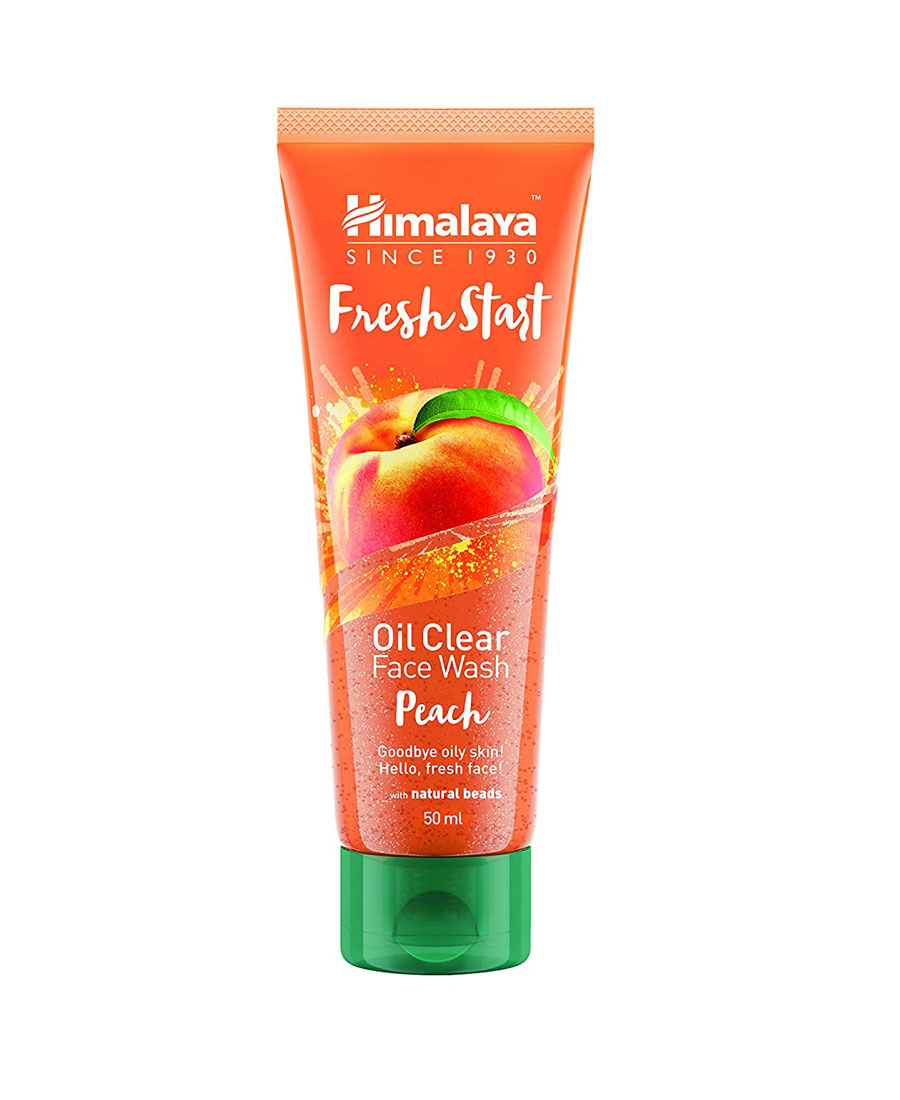 Himalaya fresh start oil clear face wash peach 50 ml