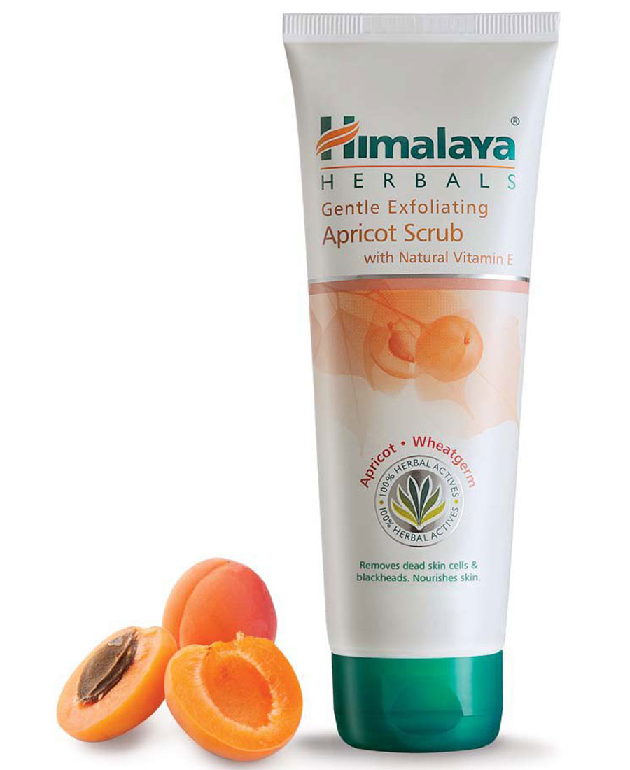 Himalaya gentle exfoliating apricot Scrub 50gm