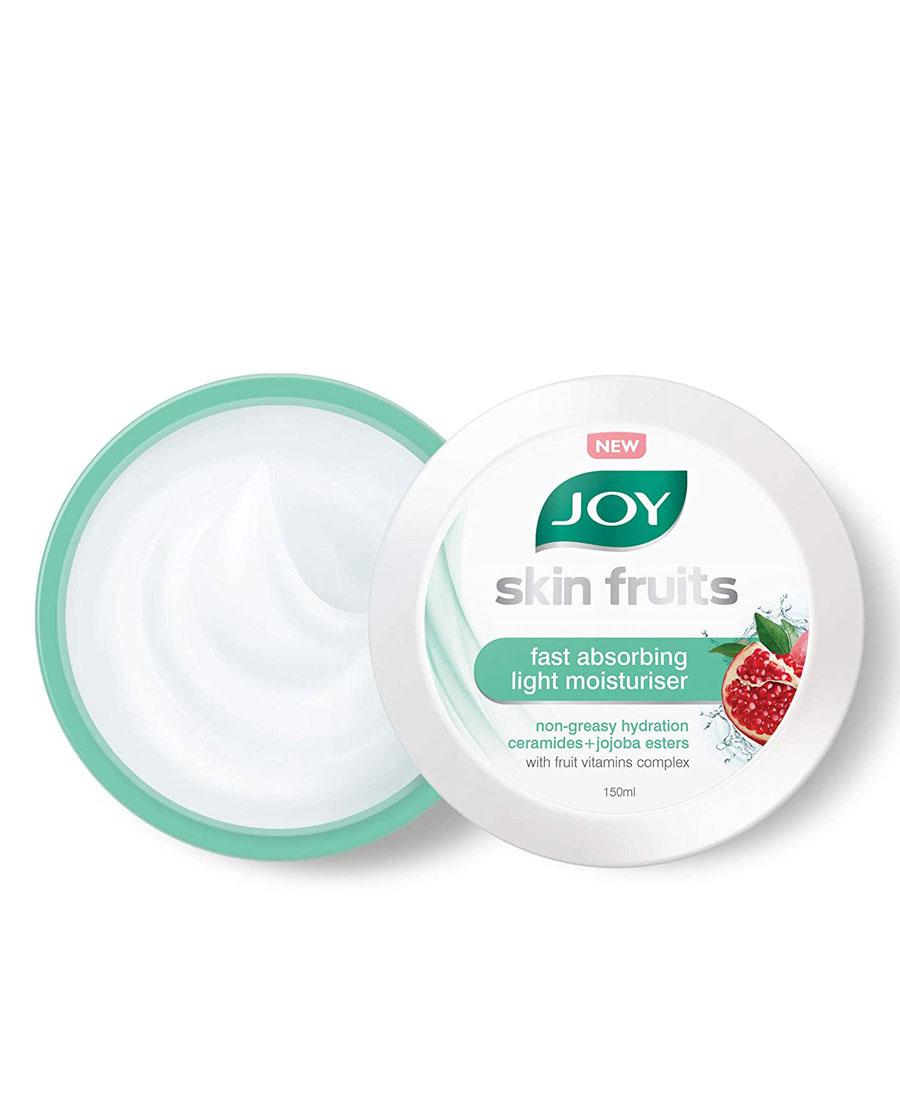 Joy skin fruit fast absorbing light moisturiser 150 ml