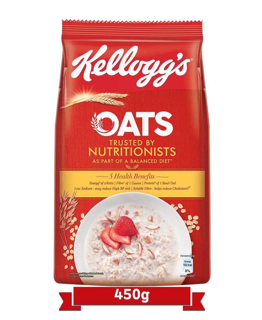 Kelloggs oats 450gm