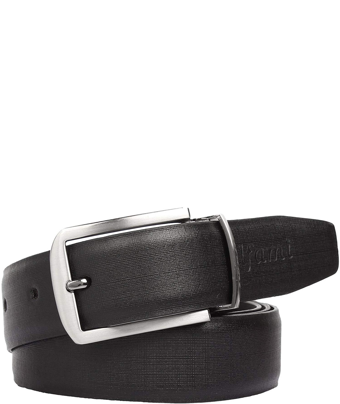Urban Alfami Mens/Gents Genuine Leather Reversible Belt | Black/Brown | Formal/Casual/Party Wear | All Sizes | 1 Year Replacement Warranty
