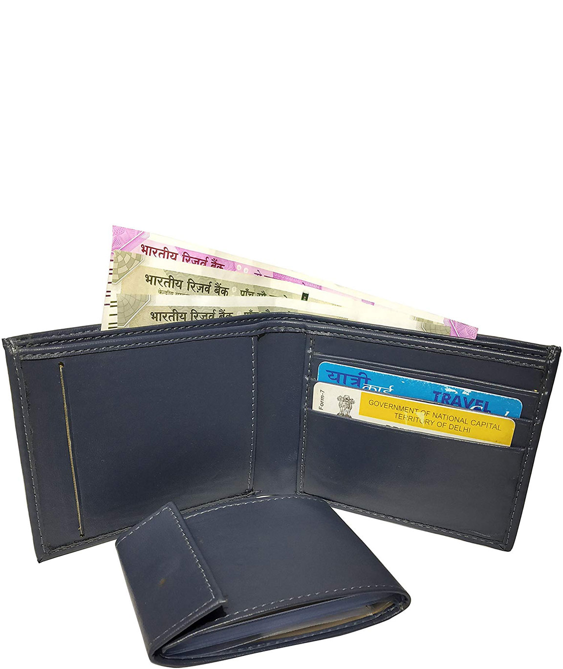 Urban alfami Purse for Men Gents Wallet, with Removable Card Album
