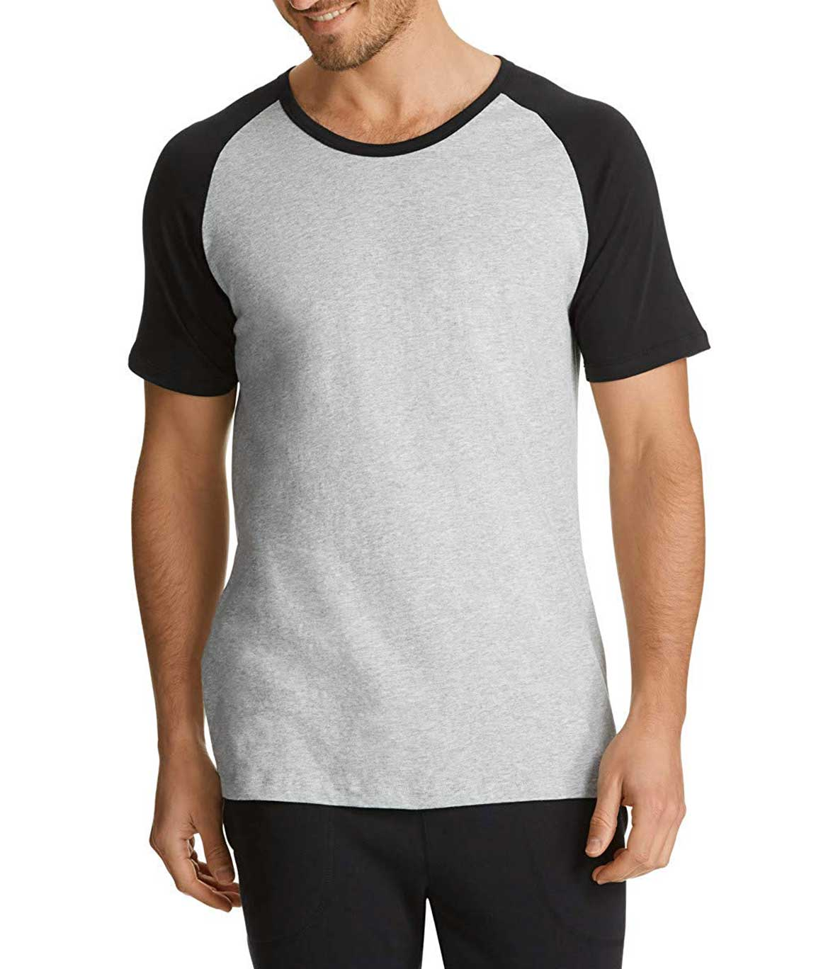 Vestiario Grey Round Neck T-Shirt