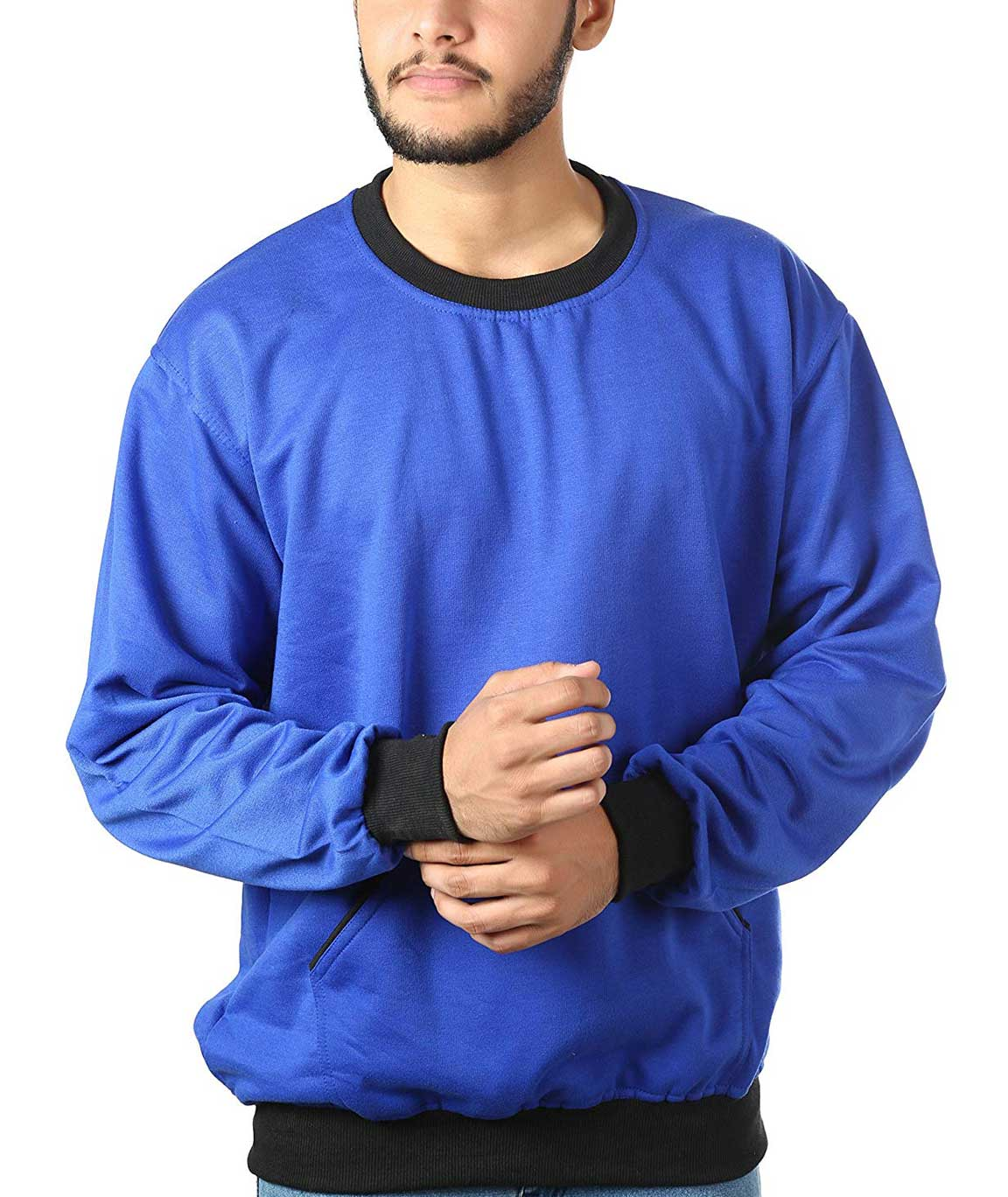 Vestiario Men Cotton Blended Sweatshirt