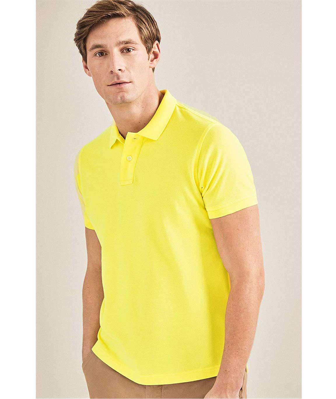 Vestiario Men`s Polo Neck T-Shirt by H2K Enterprises/Men`s Cotton Blended T-Shirts/Reasonable Price