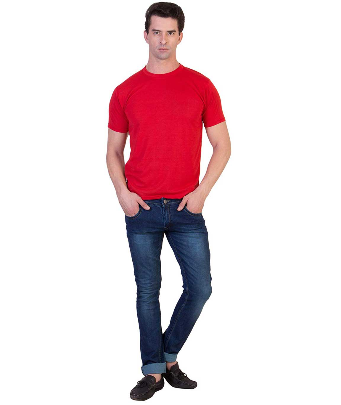 Vestiario Round Neck Dry Fit T-Shirts Combo of 2
