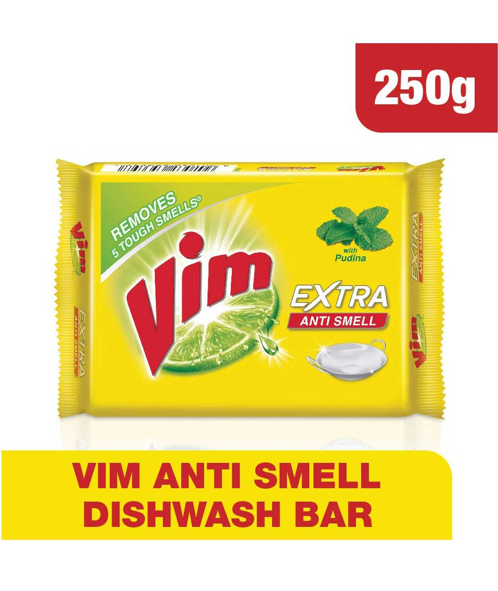 Vim Anti Smell Bar - 250 g - Pack of 5